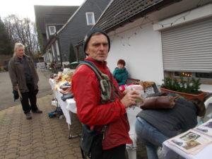 ...etwas Heißes für unseren Gassigänger Holger